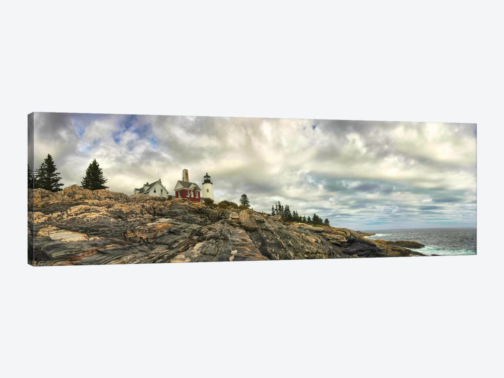 Pemaquid Light Panorama by Danny Head 1-piece Canvas Art