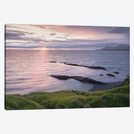A Simple Sunrise Canvas Print #DNY53} by Danny Head Canvas Art