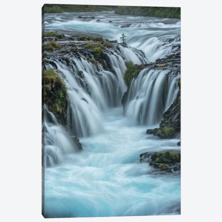 Blue Water Canvas Print #DNY59} by Danny Head Canvas Art