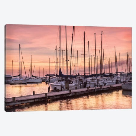 Set To Sail Canvas Print #DNY70} by Danny Head Canvas Wall Art