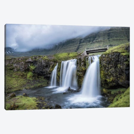 Troll Bridge Canvas Print #DNY74} by Danny Head Canvas Art Print