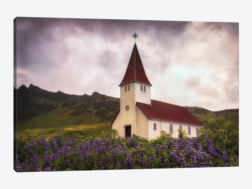 White Church by Danny Head 1-piece Art Print