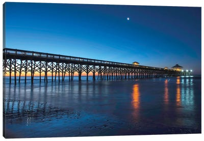 Coastal Daybreak Canvas Print #DNY7