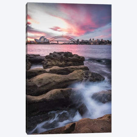 From The Rocks Canvas Print #DNY85} by Danny Head Canvas Artwork