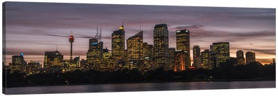 Sydney Skyline Canvas Art Print