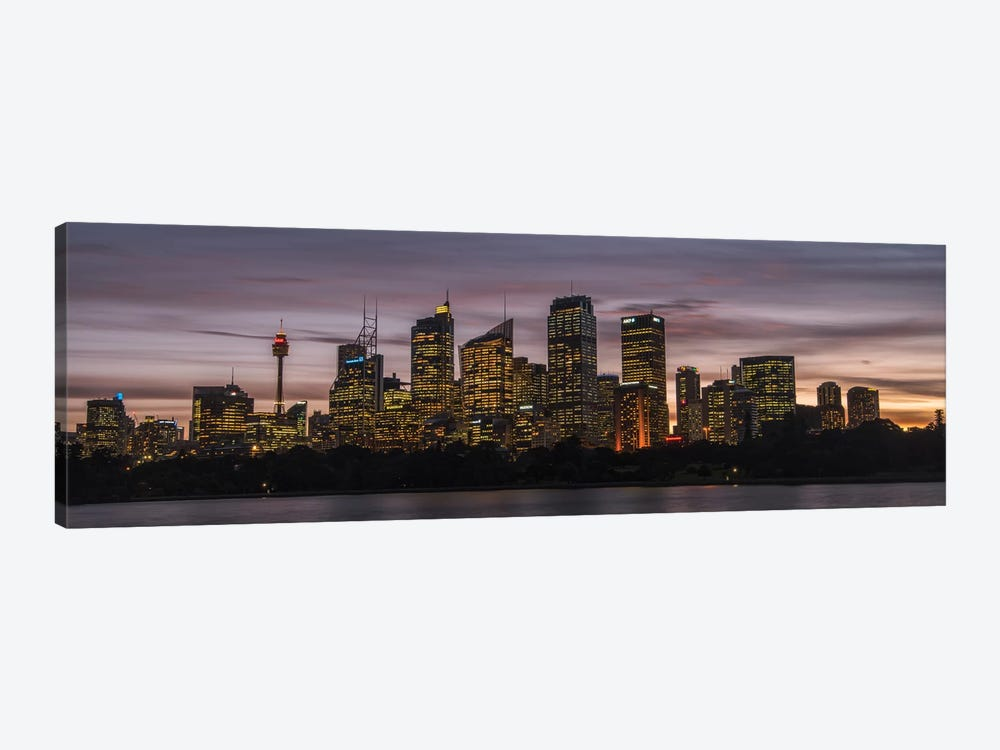 Sydney Skyline 1-piece Canvas Print