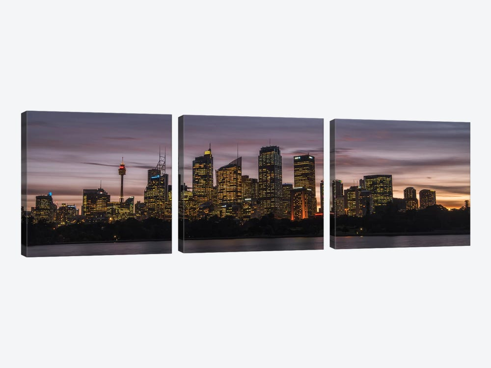 Sydney Skyline by Danny Head 3-piece Art Print