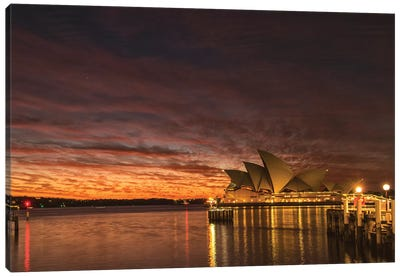 Wake Up Sydney Canvas Art Print