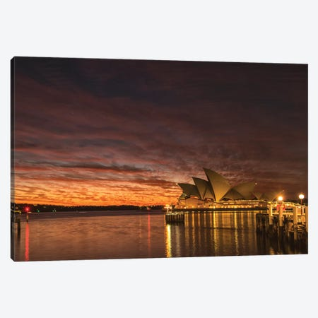 Wake Up Sydney Canvas Print #DNY89} by Danny Head Canvas Print
