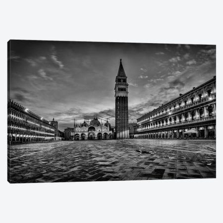B&W On the Square Canvas Print #DNY91} by Danny Head Canvas Wall Art