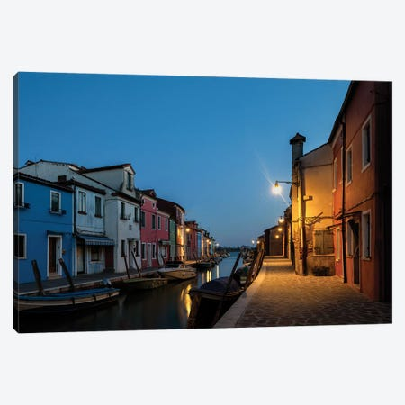 Daybreak in Burano I Canvas Print #DNY97} by Danny Head Canvas Art Print