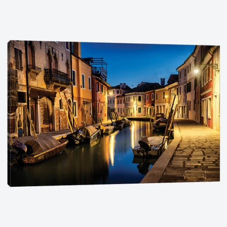 Daybreak in Burano II Canvas Print #DNY98} by Danny Head Canvas Wall Art