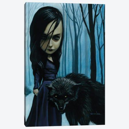 Natalie Preying Canvas Print #DNZ23} by DIENZO Canvas Artwork