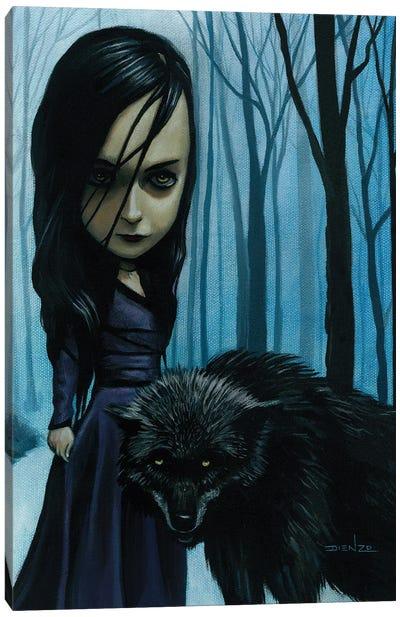 Natalie Preying Canvas Art Print