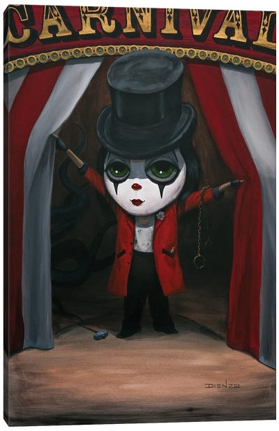 Phineas Clowning Canvas Art Print