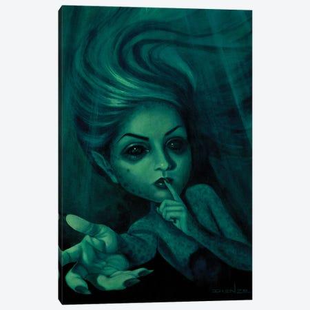Sirena Beckoning Canvas Print #DNZ32} by DIENZO Canvas Print