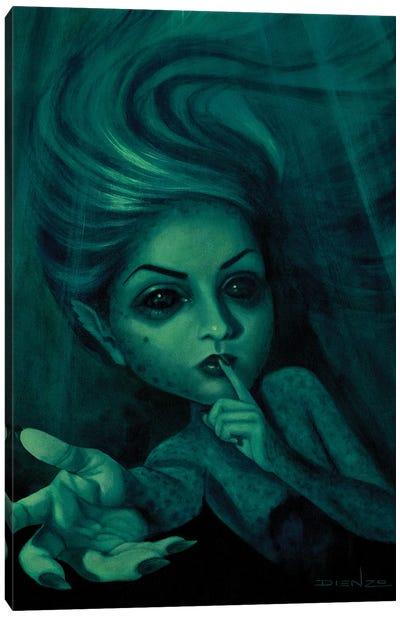 Sirena Beckoning Canvas Art Print