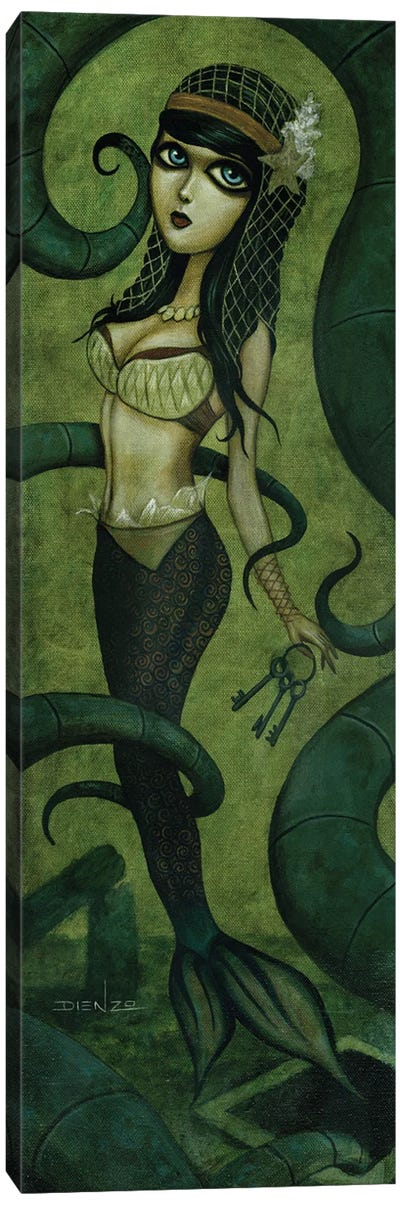 Christel Luring Canvas Art Print