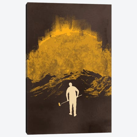 Daybreak Canvas Print #DOB16} by Rob Dobi Canvas Print