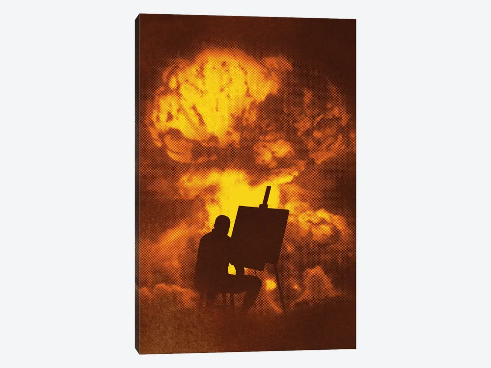 Disaster Piece by Rob Dobi 1-piece Canvas Print