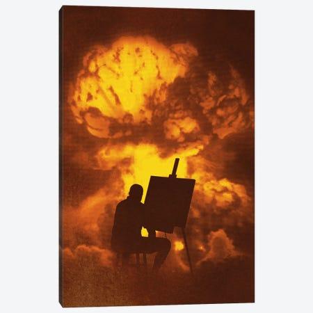 Disaster Piece Canvas Print #DOB17} by Rob Dobi Canvas Art Print