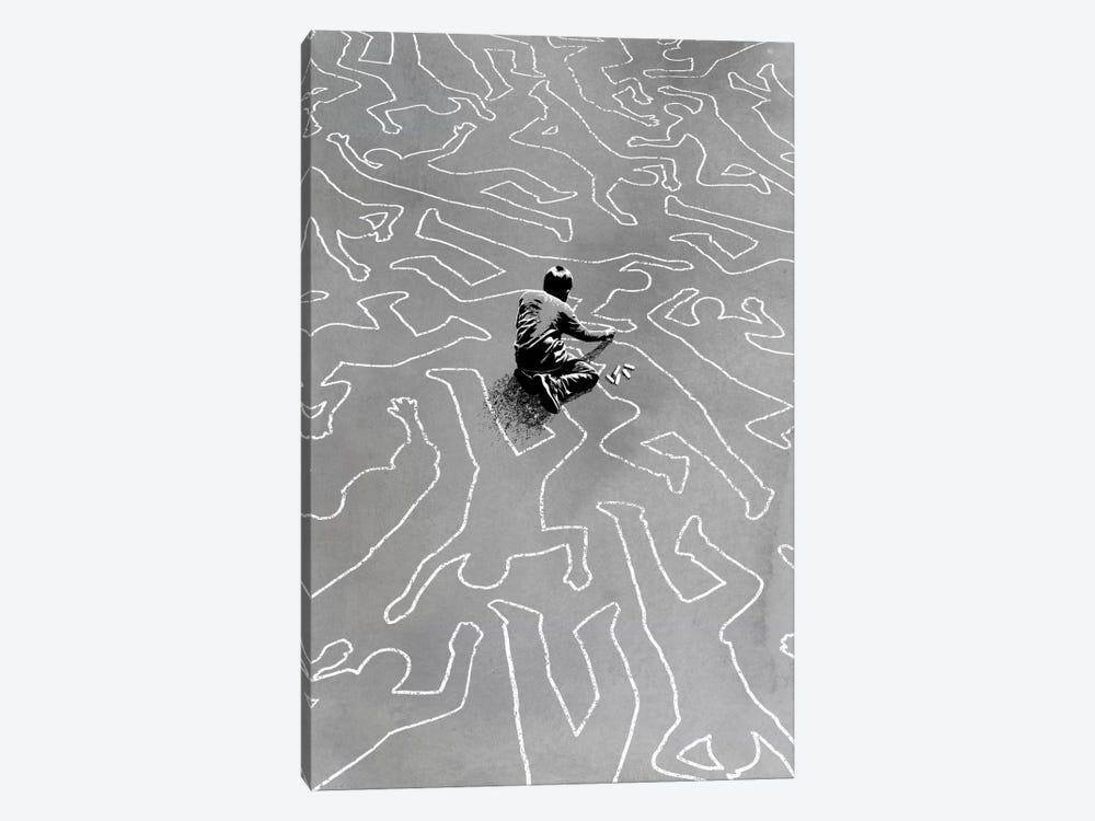 Draw The Line by Rob Dobi 1-piece Canvas Artwork