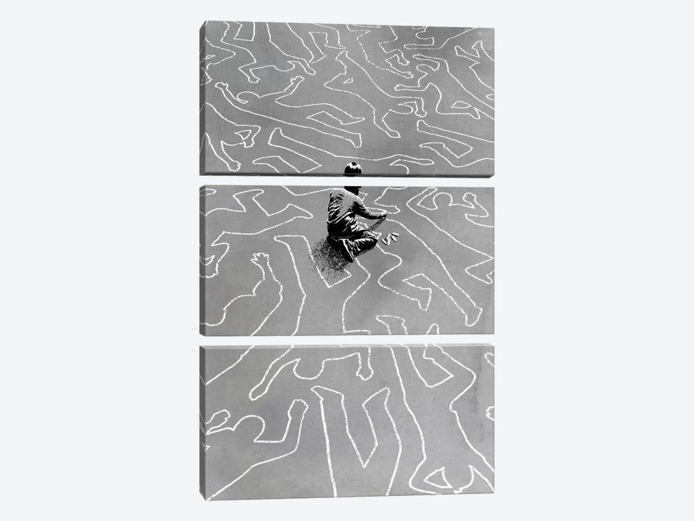 Draw The Line by Rob Dobi 3-piece Canvas Wall Art
