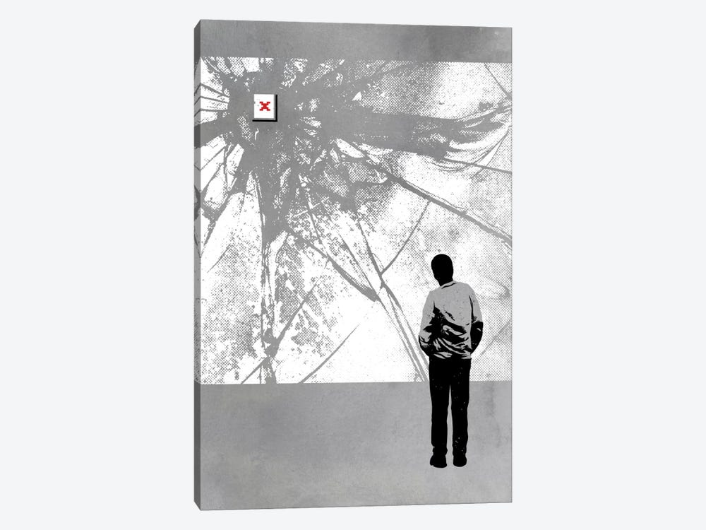 404 Redirect 1-piece Canvas Artwork