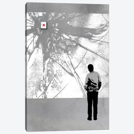 404 Redirect 3-Piece Canvas #DOB1} by Rob Dobi Canvas Art Print