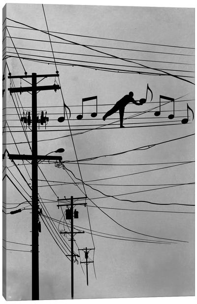 High Notes Canvas Art Print