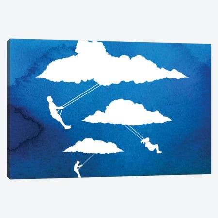 In Full Swing 3-Piece Canvas #DOB26} by Rob Dobi Canvas Art
