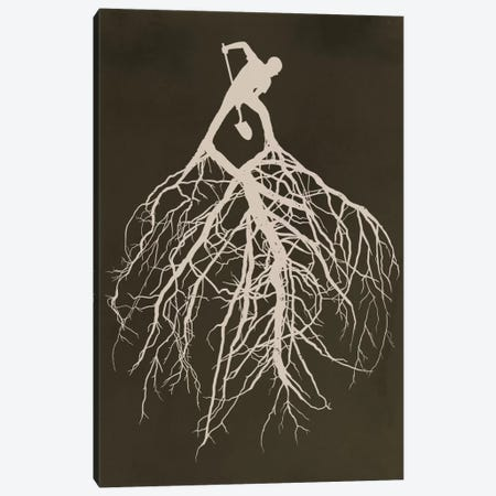 Know Your Roots Canvas Print #DOB29} by Rob Dobi Art Print