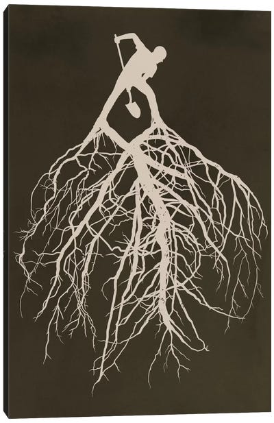 Know Your Roots Canvas Art Print