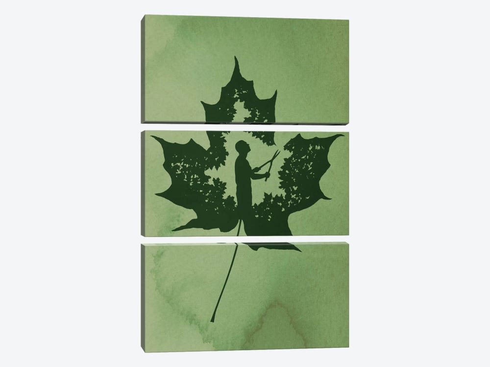 A New Leaf by Rob Dobi 3-piece Art Print