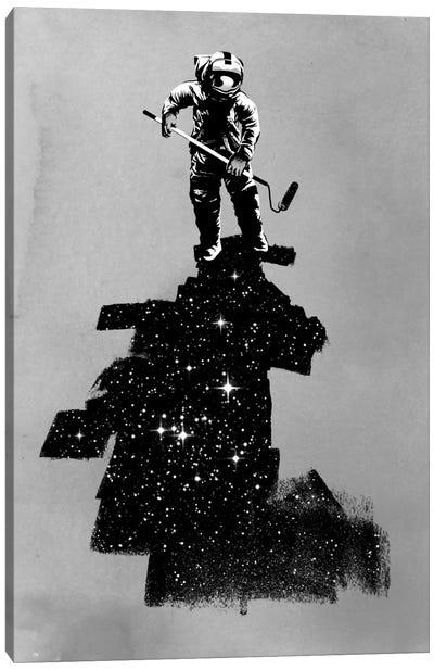 Negative Space Canvas Art Print