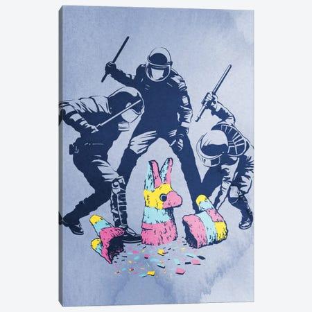 Party's Over Canvas Print #DOB35} by Rob Dobi Canvas Art Print