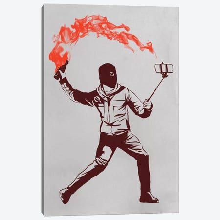 Photo Bomb Canvas Print #DOB36} by Rob Dobi Art Print