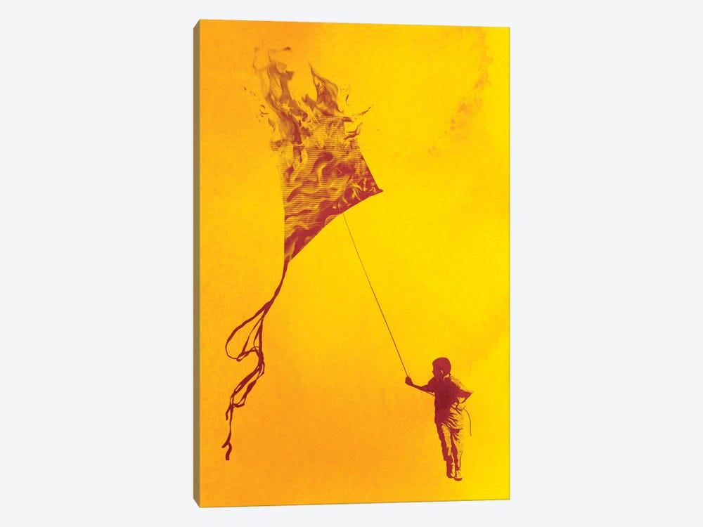 Playing With Fire by Rob Dobi 1-piece Canvas Art Print