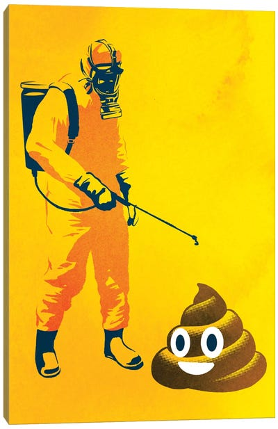 Poo Poo Canvas Art Print