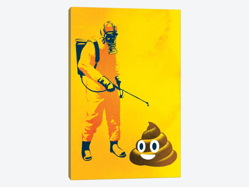 Poo Poo by Rob Dobi 1-piece Canvas Art