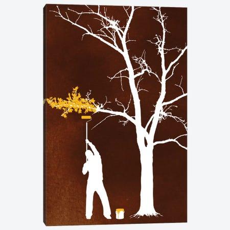 Relief Painting Canvas Print #DOB43} by Rob Dobi Canvas Art Print