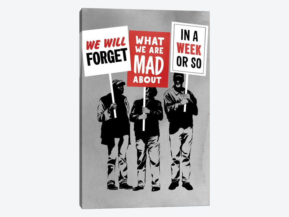 Semi-Protesting by Rob Dobi 1-piece Canvas Wall Art