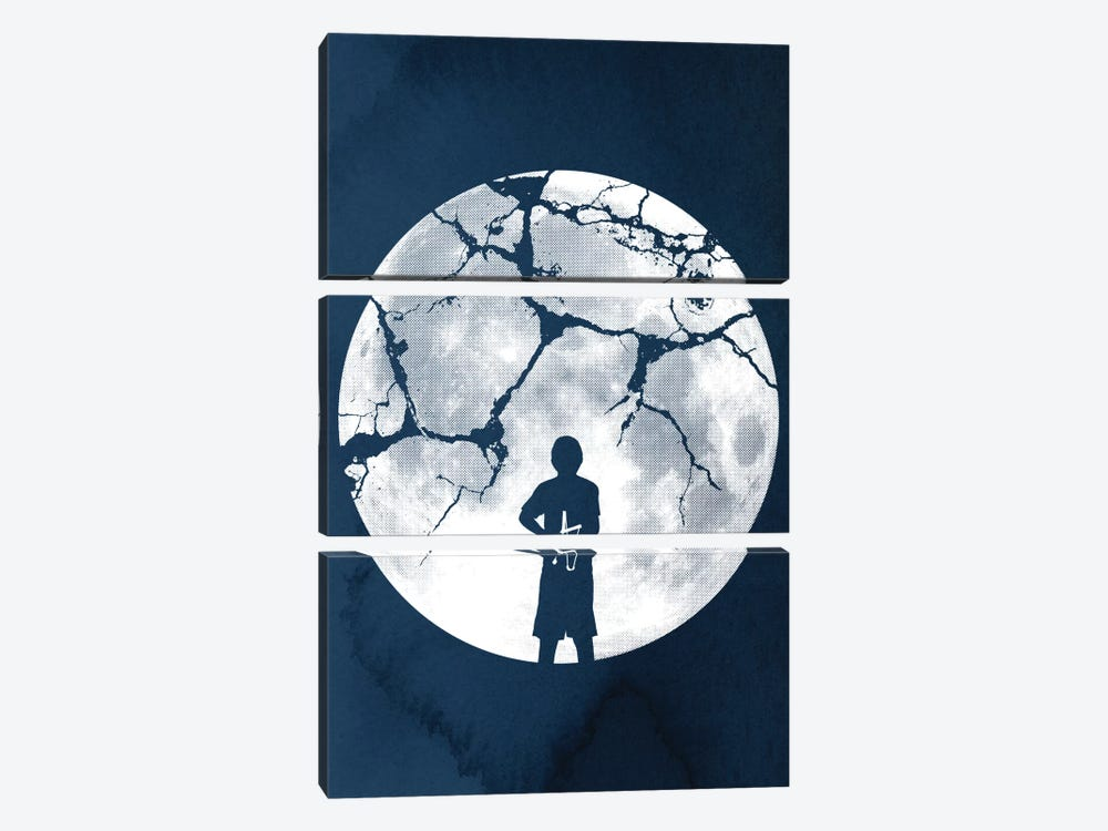 Shoot For The Moon by Rob Dobi 3-piece Canvas Art Print