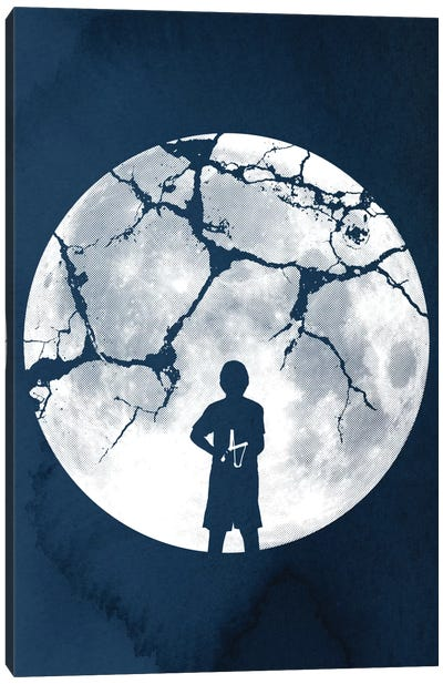 Shoot For The Moon Canvas Art Print