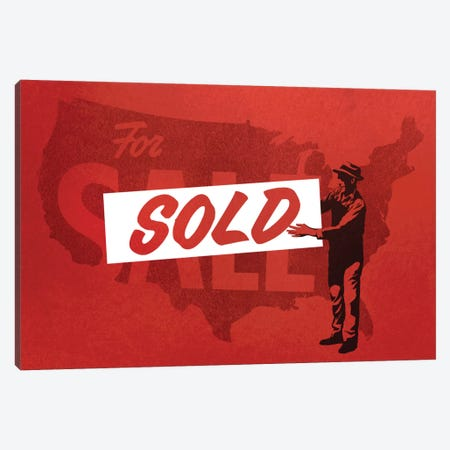 Sold 3-Piece Canvas #DOB47} by Rob Dobi Canvas Art