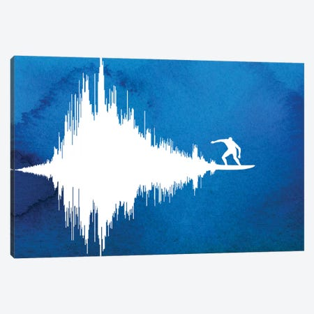 Soundwave Canvas Print #DOB49} by Rob Dobi Canvas Art Print