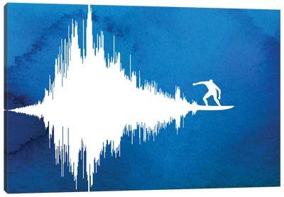 Soundwave Canvas Art Print