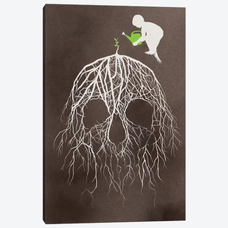 Bad Seed Canvas Print #DOB4} by Rob Dobi Canvas Artwork