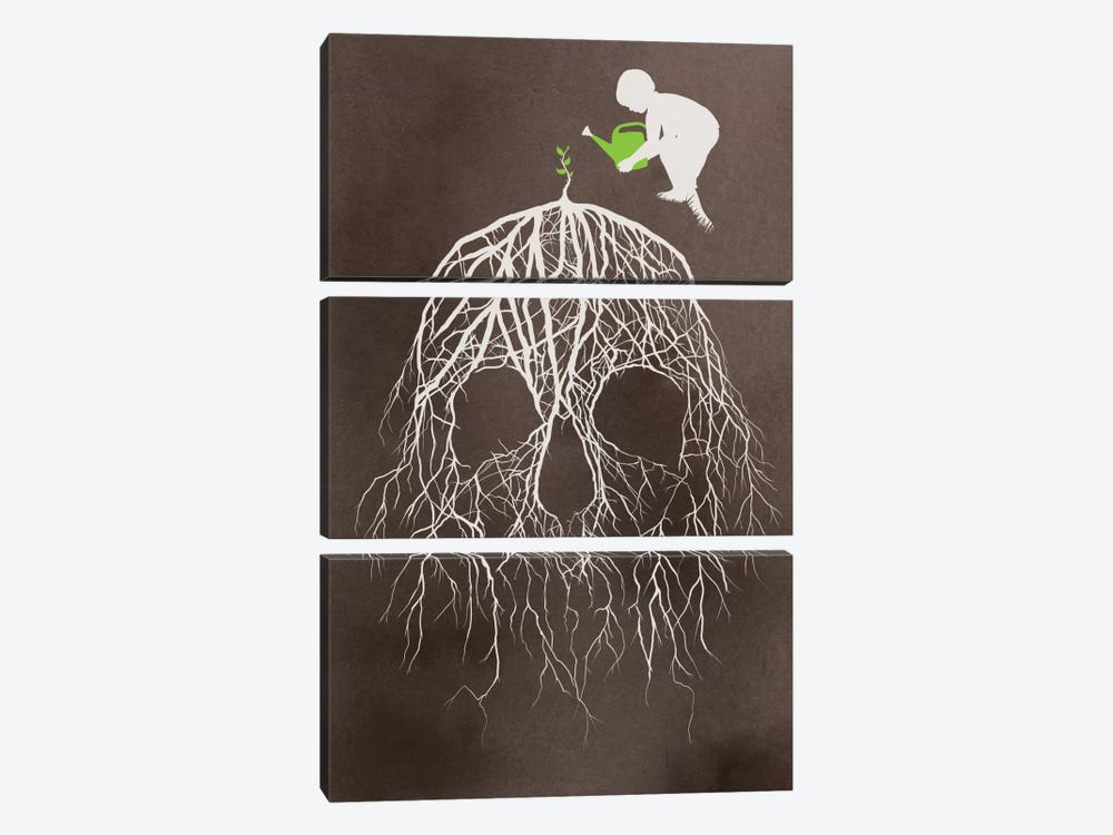 Bad Seed 3-piece Canvas Art Print