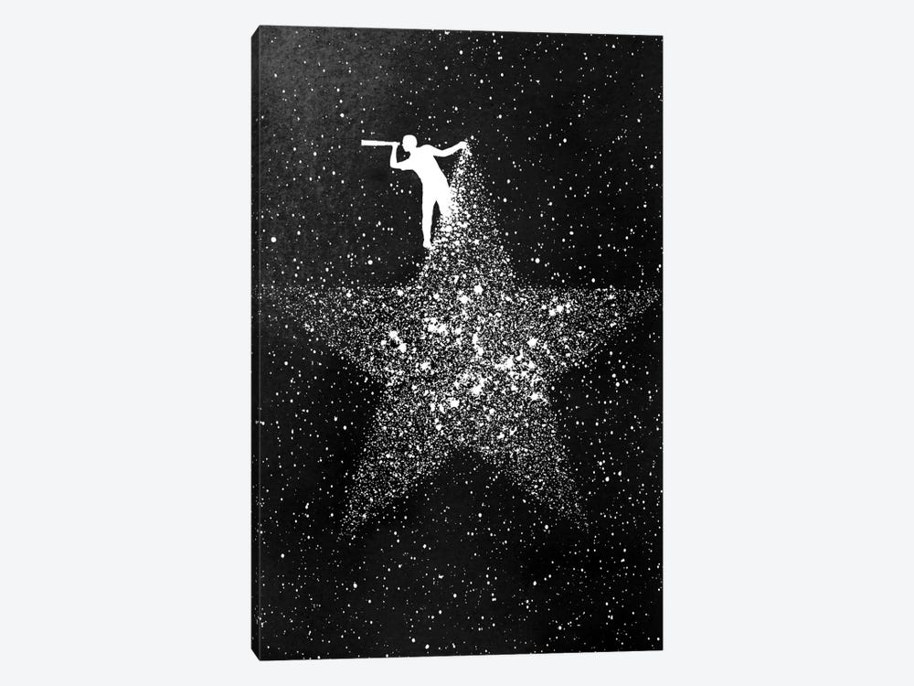 Star Gazing 1-piece Canvas Artwork
